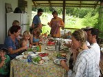 Harvest lunch 1