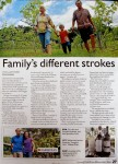 Story about Imogen's Farm in The Land magazine Dec 2010